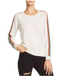 Monrow - Rainbow-stripe Sweatshirt - Lyst