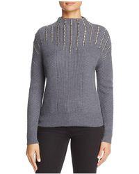 Karen Millen | Studded Sweater | Lyst