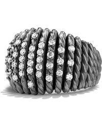 David Yurman | Tempo Ring With Diamonds | Lyst