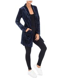 B Collection By Bobeau - Jame Velvet Jacket - Lyst