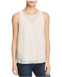 NIC+ZOE - Chiffon Sleeveless Top - Lyst