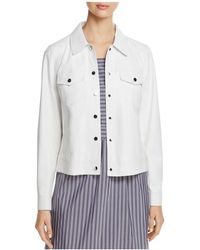 Lafayette 148 New York - Destiny Leather Jacket - Lyst