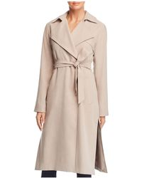 Cole Haan - Player Button Front Trench Coat - Lyst