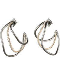 Alexis Bittar - Deconstructed Triple Hoop Earrings - Lyst