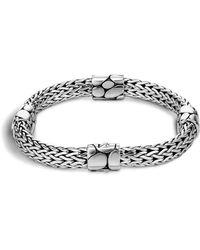 John Hardy | Women's Sterling Silver Kali Four Station Bracelet | Lyst