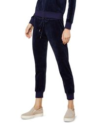 Juicy Couture - Luxe Zuma Velour Jogger Pants - Lyst