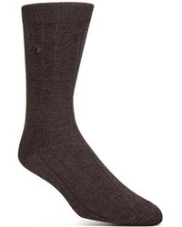 Cole Haan - Ribbed Dress Socks - Lyst