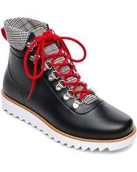 37d6b73a7 Lyst - Sam Edelman Winnie Tassel Leather Booties in Purple