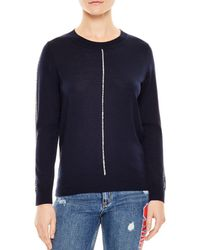 Sandro - Anouk Piped Sweater - Lyst