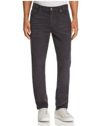 7 For All Mankind - Adrien Slim Fit Corduroy Trousers - Lyst