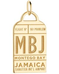 Jet Set Candy | Mbj Montego Bay Luggage Tag Charm | Lyst