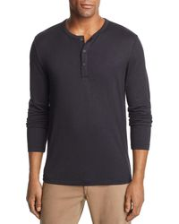 Theory - Long-sleeve Henley - Lyst