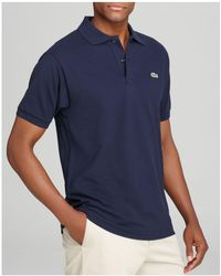 Lacoste - Short Sleeve Piqué Polo Shirt - Classic Fit - Lyst