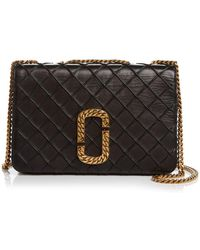 da05be1309 Marc Jacobs - Trouble Medium Leather Shoulder Bag - Lyst