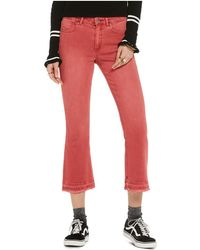 Scotch & Soda - Cropped Kick Flare Jeans In Chilli - Lyst
