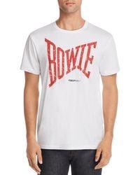 6bde659dd MadeWorn David Bowie Tee-shirt for Men - Lyst
