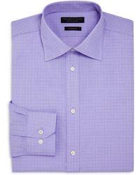 Bloomingdale's - Mini Glen Plaid Regular Fit Dress Shirt - Lyst