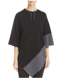 Marc New York - Performance Colour Block Hooded Poncho - Lyst
