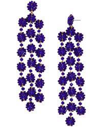 BaubleBar - Shiori Floral Drop Earrings - Lyst