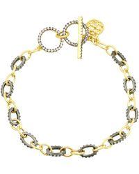 Freida Rothman - Two-tone Toggle Bracelet - Lyst