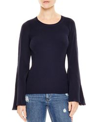 Sandro - Ruddy Silk-sleeve Sweater - Lyst