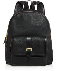 Cole Haan - Brayton Pebbled Leather Backpack - Lyst
