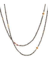 David Yurman - Citrine And Pink Tourmaline In 18k Gold - Lyst