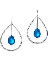 Ippolita | Sterling Silver Rock Candy® Wonderland Large Pear Shape Drop Earrings In Ultramarine | Lyst