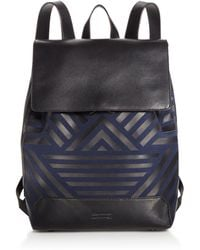 Uri Minkoff - Geo Twill Drawstring Backpack - Lyst