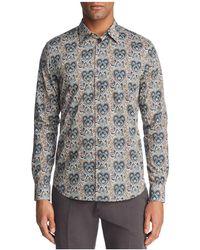 Paul Smith | Liberty Print Floral Slim Fit Dress Shirt | Lyst