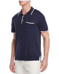 Todd Snyder - Tipped Polo Shirt - Lyst