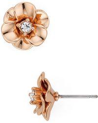 Kate Spade - Flower Stud Earrings - Lyst