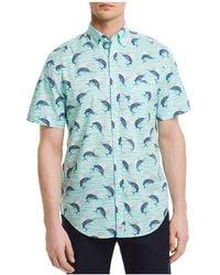 Vineyard Vines - Marlin Print Regular Fit Button-down Shirt - Lyst