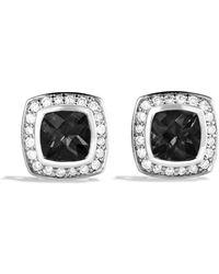 David Yurman | Petite Albion Earrings With Black Onyx & Diamonds | Lyst