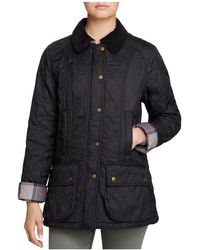Barbour - Jacket - Beadnell Polar Quilted - Lyst