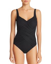 Gottex - Lattice Geometric Neck One Piece Swimsuit - Lyst