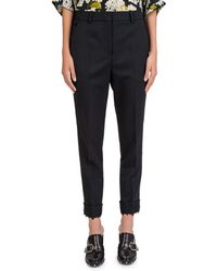 The Kooples - Tapered Lace-cuff Pants - Lyst