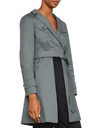 BCBGMAXAZRIA - Open-panel Trench Jacket - Lyst