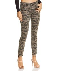 Blank NYC - High-rise Camo Skinny Jeans In Squadron - Lyst