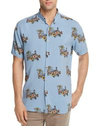 b893b38264 Lyst - Barney Cools 'excursion' Extra Trim Fit Short Sleeve Woven ...