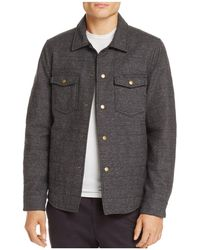 Billy Reid - Michael Quilted Shirt Jacket - Lyst