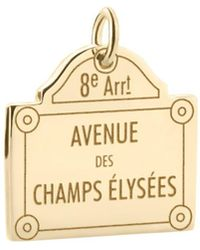 Jet Set Candy - Champs-elysées Sign Charm - Lyst