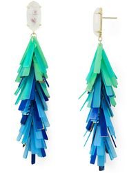 Kendra Scott - Justyne Earrings - Lyst