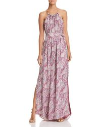 Ramy Brook - Naomi Halter Maxi Dress - Lyst