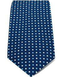 Hilditch & Key - Small Alternating Dots Classic Tie - Lyst
