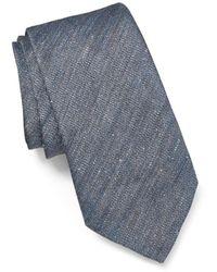 John Varvatos - Melange Solid Classic Tie - Lyst