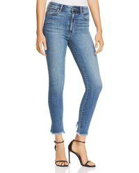 Joe's Jeans - Charlie Frayed Ankle Jeans In Taraji - Lyst