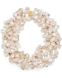 Bloomingdale's - Freshwater Keshi Pearl Four Strand Necklace - Lyst