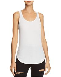 Splendid - 2x1 Ribbed Tank - Lyst