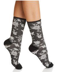 Natori - Mariposa Crew Socks - Lyst